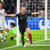 Frankreich überzeugt