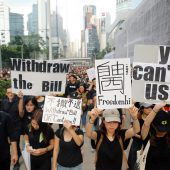 Hongkong unter Druck