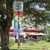 Ab jetzt zeigt die Weltgymnaestrada 2019 in Vorarlberger Kommunen Flagge. A8