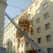 Gasexplosion in der Wiener Innenstadt. D6