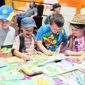 Trotz Hitze Ansturm auf VN-Buchmesse