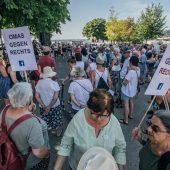 Demo für Solidarität