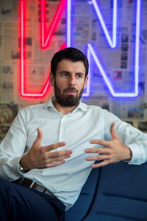 Fondsmanager Michael Huber (Raiffeisen Capital Management).VN/Paulitsch