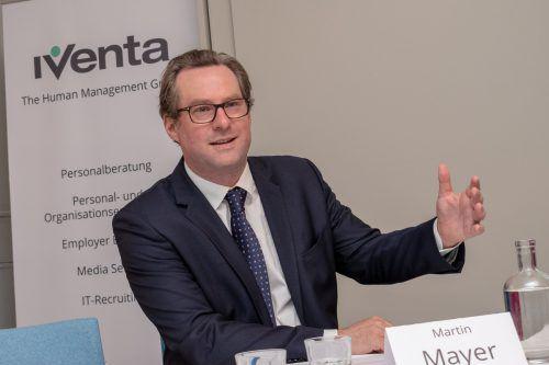 Für Iventa-Geschäftsführer Martin Mayer war es sehr spannend, in diesem Jahr an der Studie teilzunehmen. APA/Jacqueline Godany