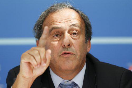 Gegen den ehemaligen UEFA-Präsident Michael Platini laufen Ermittlungen wegen unlauterer Machenschaften bei der Vergabe der Fußball-WM an Katar. ap