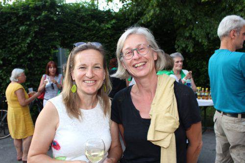 Gerlinde Wiederin und Claudia Beck zeigten sich vom Konzert begeistert.