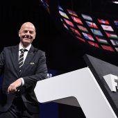 Infantino bleibt ander FIFA-Spitze