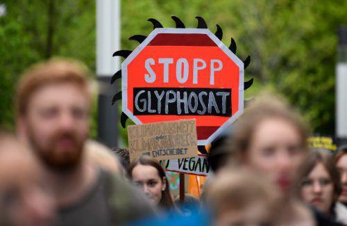 2020 soll das allgemeine Glyphosatverbot in Österreich in Kraft treten. Ob es europarechtlich hält, ist fraglich. AFP