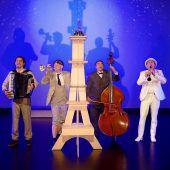 Musikalische Zeitreise mit den Schurken durch Paris