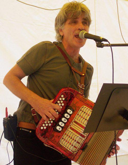 Günter Sohm ist Liedermacher und Dialektautor. Transmitter