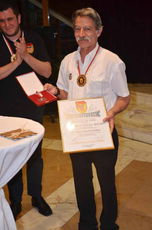 Hans-Werner Petzold wurde als Präsident feierlich verabschiedet. pe