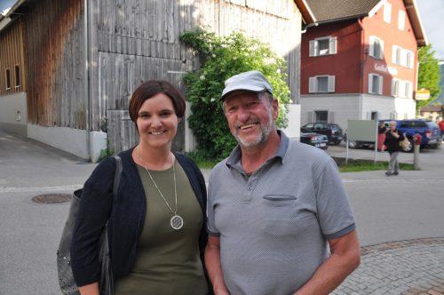 Heinrike und Werner Berjakwaren gerne mit dabei . . .