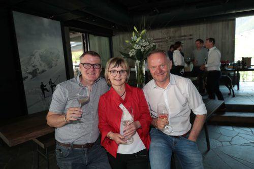 Heinz Luef, Marlene Gugele und Peter Marko (v. l.).