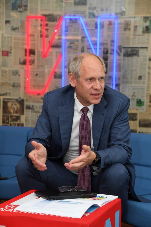 Hendrik Leber, Gründer der Acatis Investment GmbH. VN/Lerch