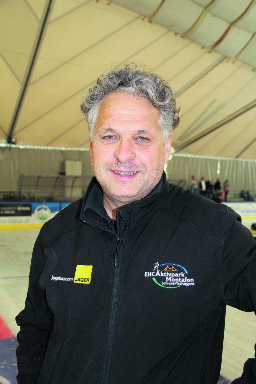 Herbert Tschofen arbeitet an einem Konzept für eine Eishockeyakademie. Stemer-Moosmann