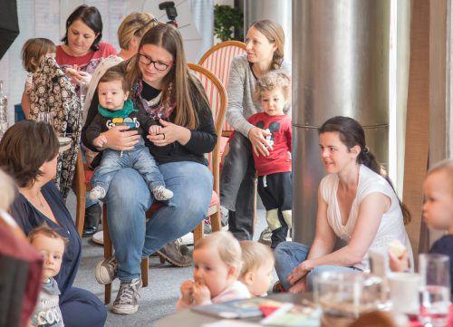 Heute findet das nächste Eltern-Kind-Café im Zäwas statt. Egger