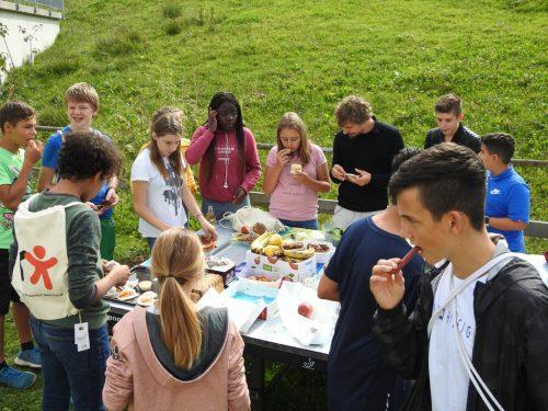 Heute wird zum nachhaltigen Picknick geladen. veranstalter