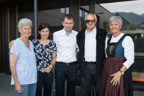 Hildegard Tschabrun, Margit und Michael Ammann, Hermann Gohm und Anita Ehrenberger. MiM