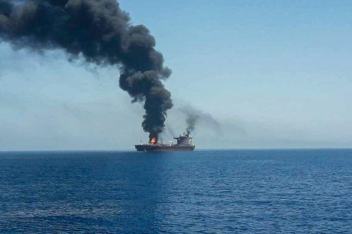 Im Golf von Oman wurden vergangene Woche Öltanker attackiert. REUTERS