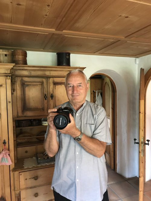 Immer mit seiner Kamera am Geschehen dabei: Guido Loacker VN/Hämmerle