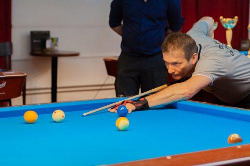 In der Disziplin 10er-Ball konnte sich Peter Rusnak behaupten.ppc rankweil