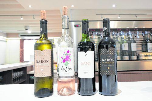 In der Kooperative bei Buzet-sur-Baïse kann man die Weine direkt verkosten.