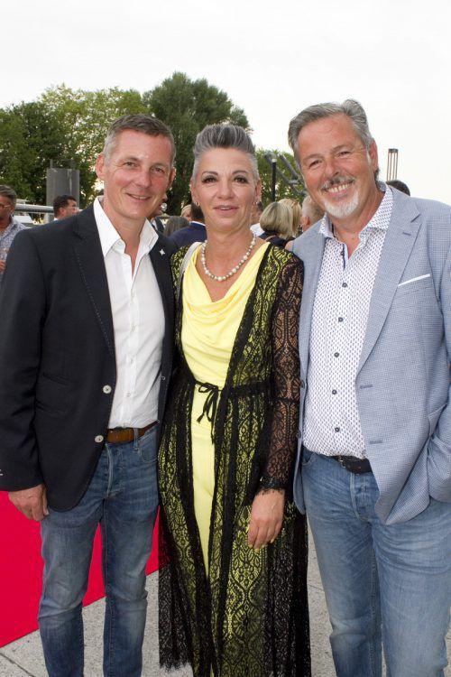 Jörg Peham (l.), Claudia Prossegger-Steffani und Horst Giselbrecht.