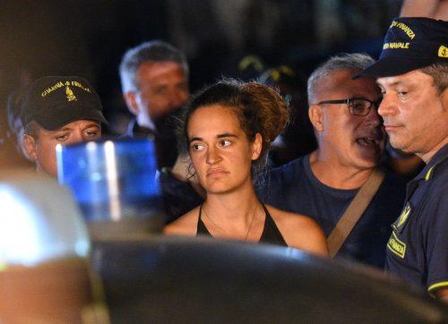 Kapitänin Carola Rackete wurde in Lampedusa festgenommen. reuters