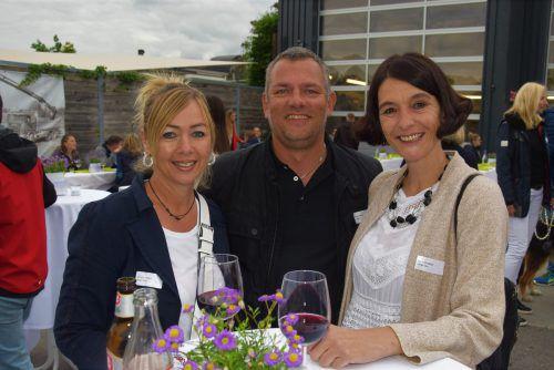 Karin Grabher, Kerstin Mathis und Michael Mathis (Arte Viva).