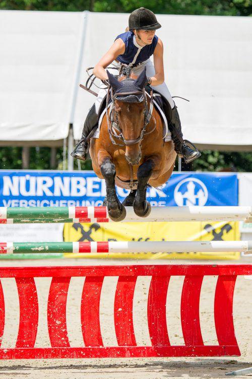 Katharina Rhomberg holte zwei Siege und einen dritten Platz.Verein