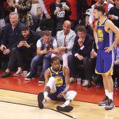Kevin Durant mit Achillessehnenriss