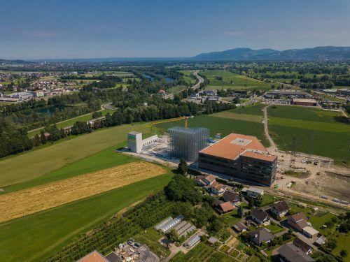 Künftige Nutzung von Grund und Boden gilt in Vorarlberg auch weiterhin als politischer Dauerbrenner. VN/Steurer