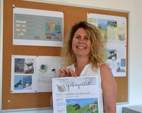 Kuratorin Evelyne Oberhauser freut sich auf zahlreiche Besucher.