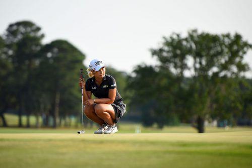 Lee Jeong-eu kassierte das erste Millionen-Preisgeld im Damen-Golf.apa