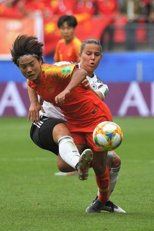Lena Sophie Oberdorf ist nun die jüngste DFB-Spielerin bei einer Frauen-WM.AFP
