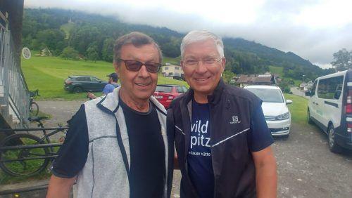 Leo Amann und Daniel Wiesner waren in Schnifis dabei.