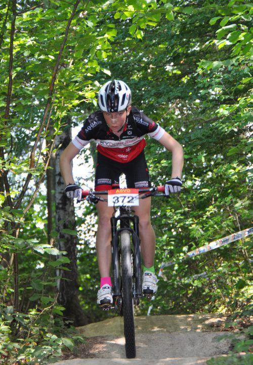 Lisa Feurstein verbuchte im vierten Rennen ihre vierte Top-3-Platzierung.