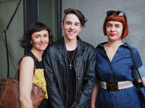 Manuela Auer (l.) sowie Julius Hellrigl und Heidi Wimmer.