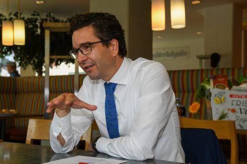 Markus Kaser ist Geschäftsführer von Interspar Österreich.VN/Lerch