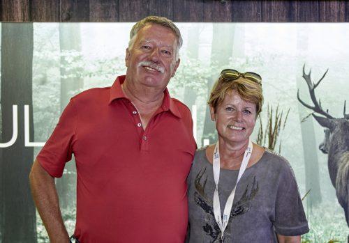 Martin Hilti mit Ehefrau Renate Hilti. BMW Österreich