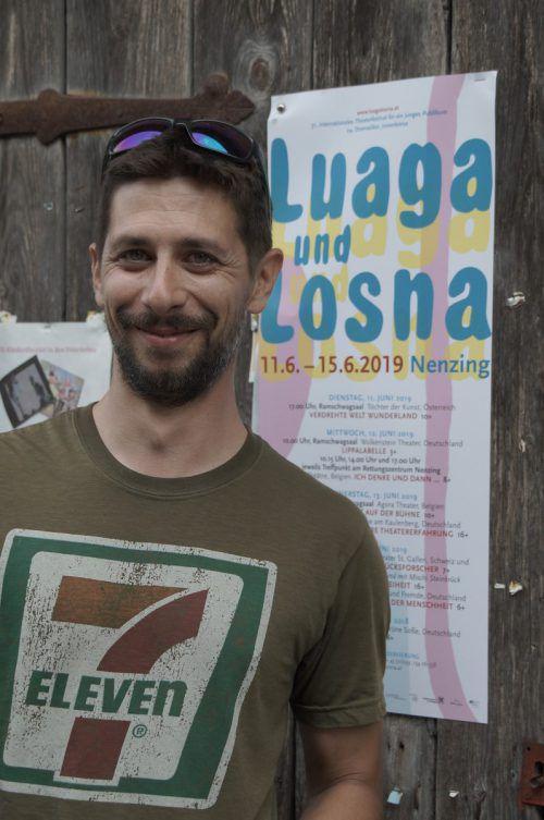 """Matthias Bitschnau ist der neue Obmann des Vereins """"Luaga & Losna""""."""