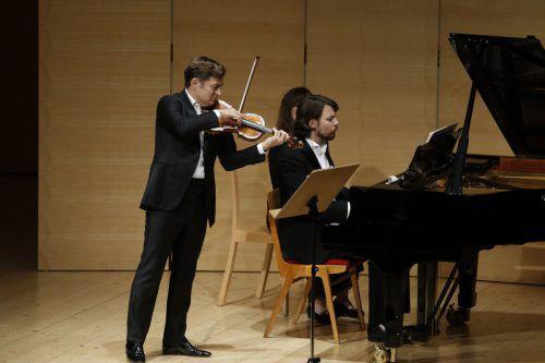 Meister des Instrumentalen: Renaud Capuçon und David Fray. Schubertiade