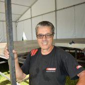 Michael Dünser ist der Mister Gymnaestrada in Götzis