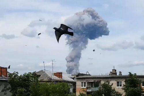 Mindestens 85 Menschen wurden bei mehreren Explosionen verletzt. AP