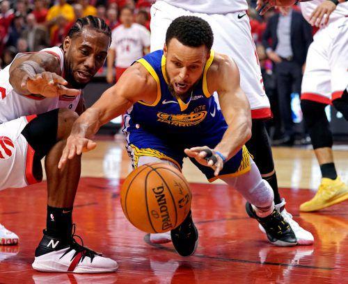 Mit 31 Punkten war Stephen Curry der Wegbereiter für den Sieg.ap