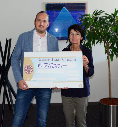 Mit der Spende an Inge Sulzer werden drei Familien direkt unterstützt.rt