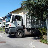 Abbiegeassistenten für städtische Lkw
