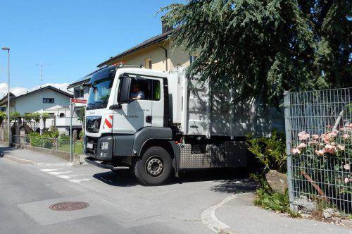 Mit neuer Technik ausgestattet, sollen die Lkw für mehr Sicherheit sorgen. Stadt