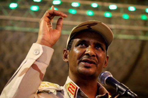 Mohammed Dagalo ließ ich von Saudi-Kronprinz Bin Salman beraten. reuters