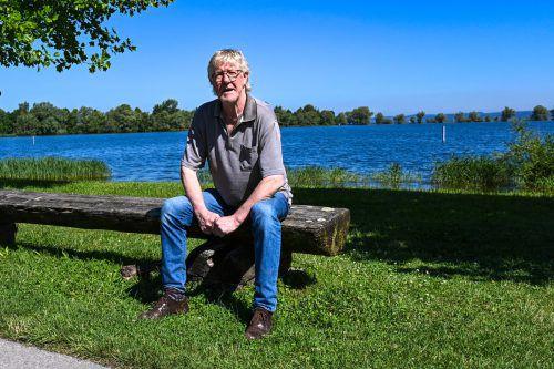 Nach dem Foen-X-Festival am Stedepark in Hard direkt am Bodenseeufer verabschiedet sich Manfred Rendl in den Ruhestand. VN/Lerch
